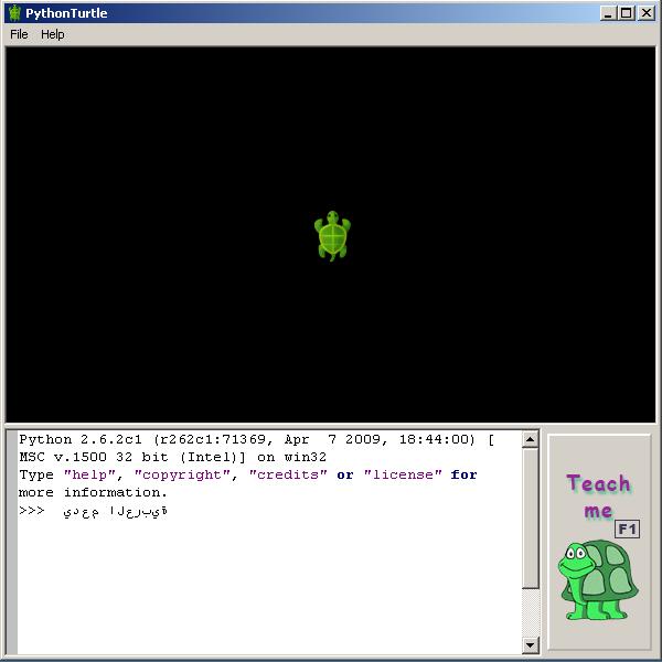 screenshot 2 Python Turtle