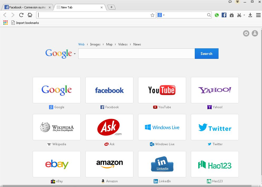 screenshot 1 Baidu Browser