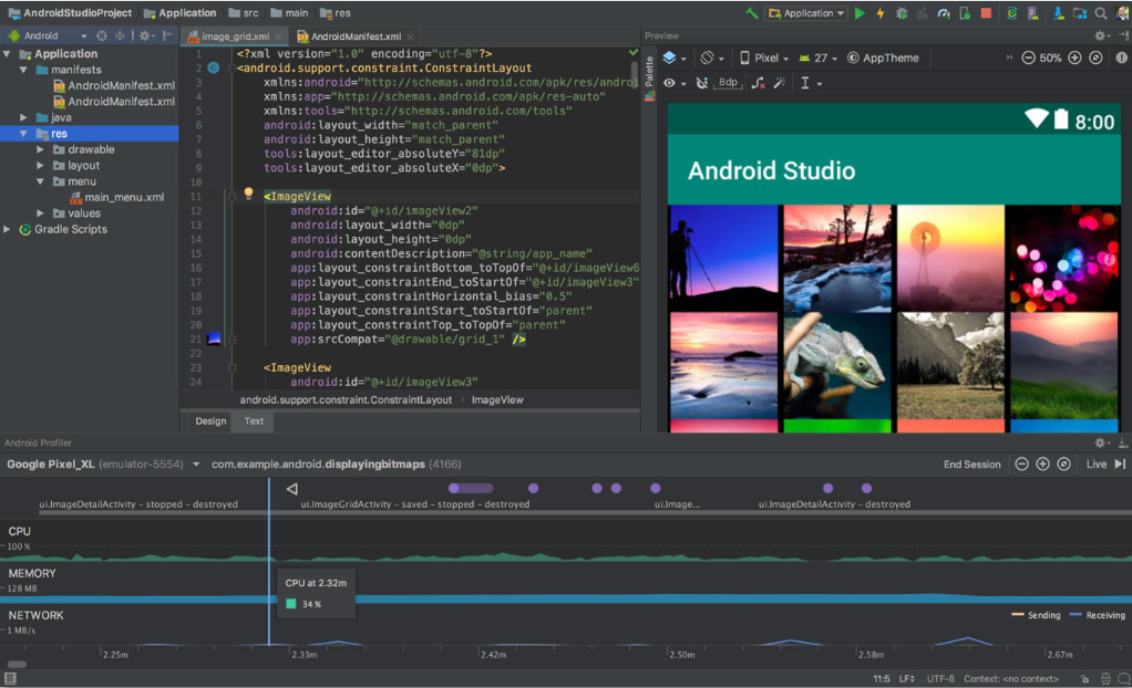 screenshot 1 Android Studio