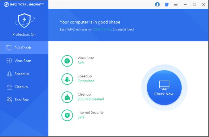 screenshot 1 360 Total Security