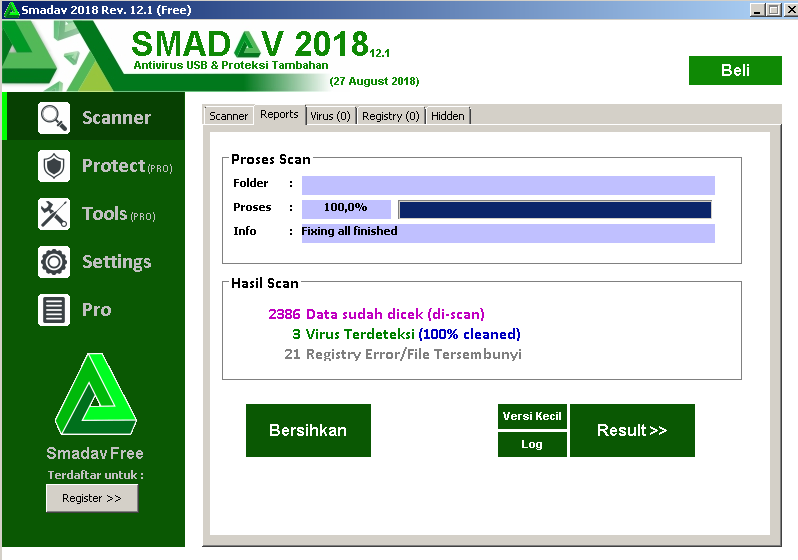 screenshot 1 Smadav Antivirus