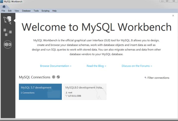 screenshot 1 MySQL