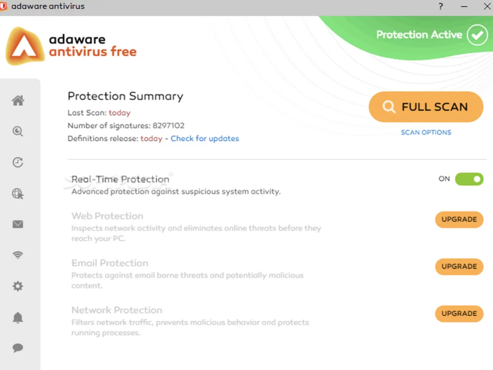 screenshot 1 Adaware Antivirus Free