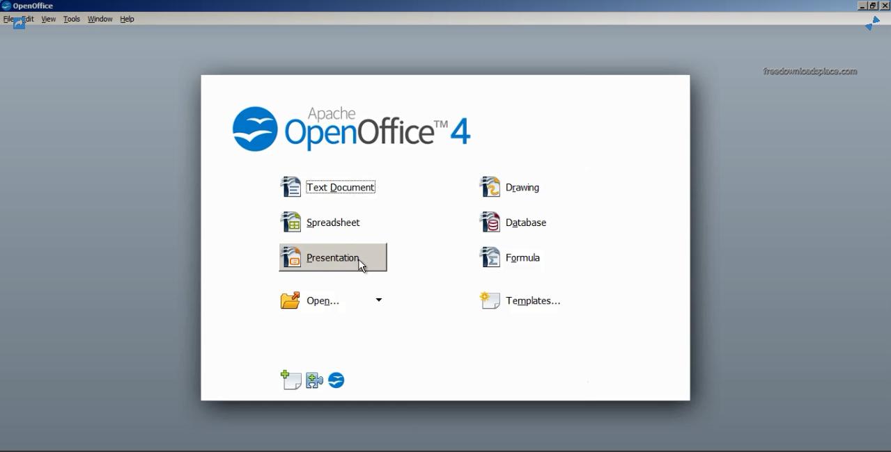 screenshot 1 Apache OpenOffice