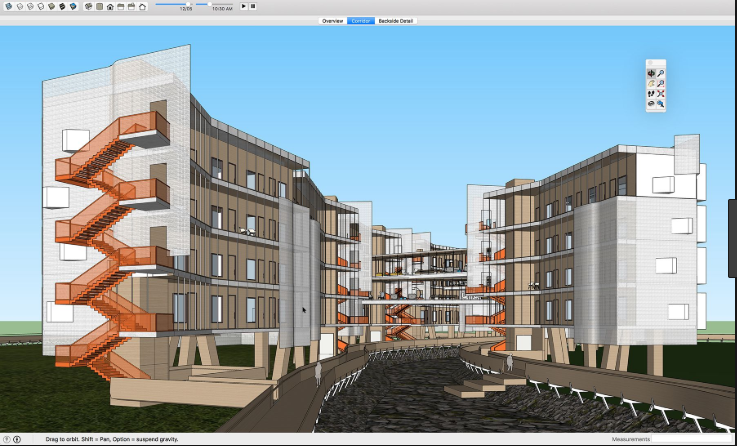 screenshot 1 SketchUp Make