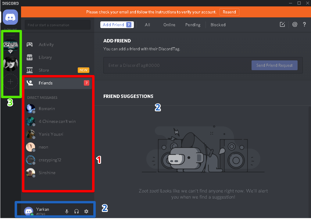 screenshot 1 Discord