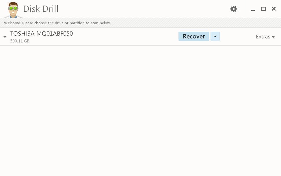 screenshot 1 Disk Drill