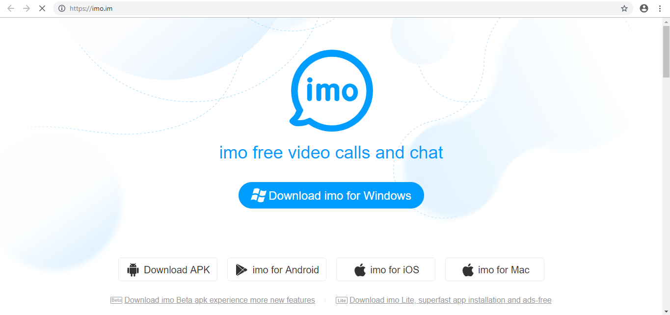 screenshot 1 Imo Messenger for Windows