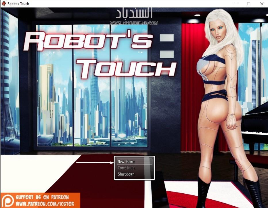 تشغيل اللعبة :Robot's Touch