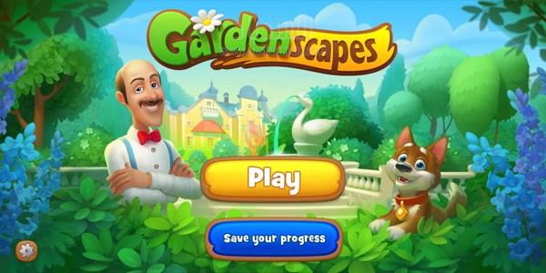 صور من اللعبة:Gardenscapes
