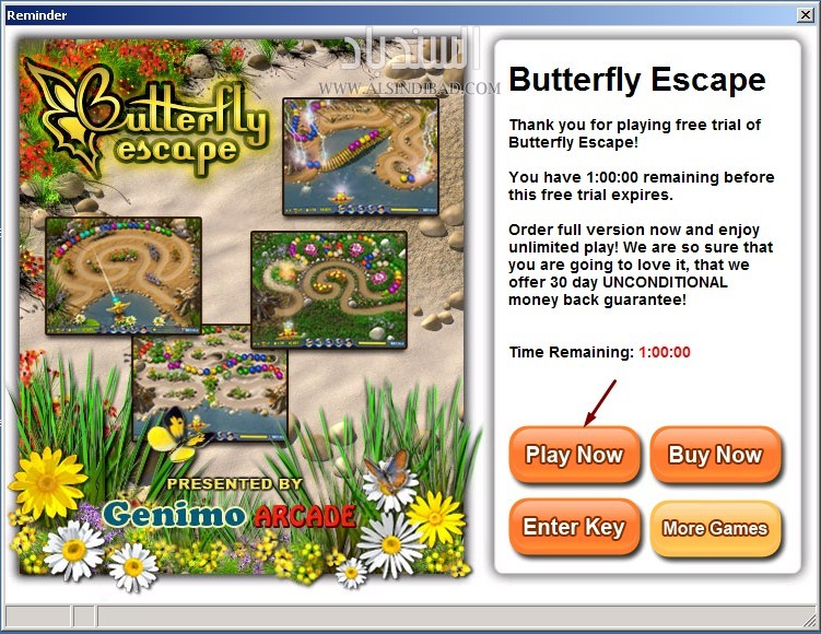 screenshot 1 Butterfly Escape