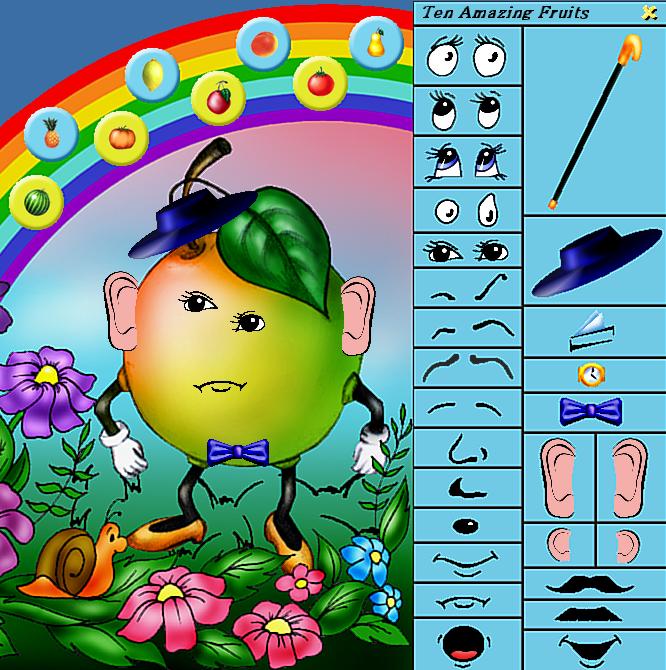 screenshot 1 10 Amazing Fruits