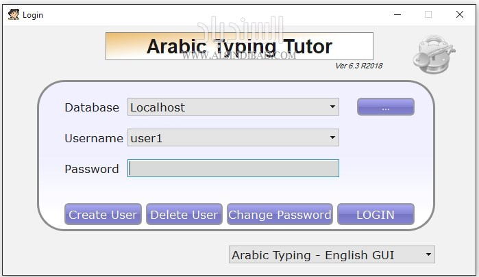 Arabic Keyboard Typing Tutor
