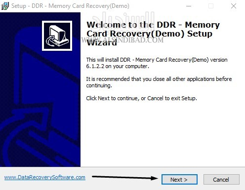 screenshot 1 Memory card Data Recovery Software