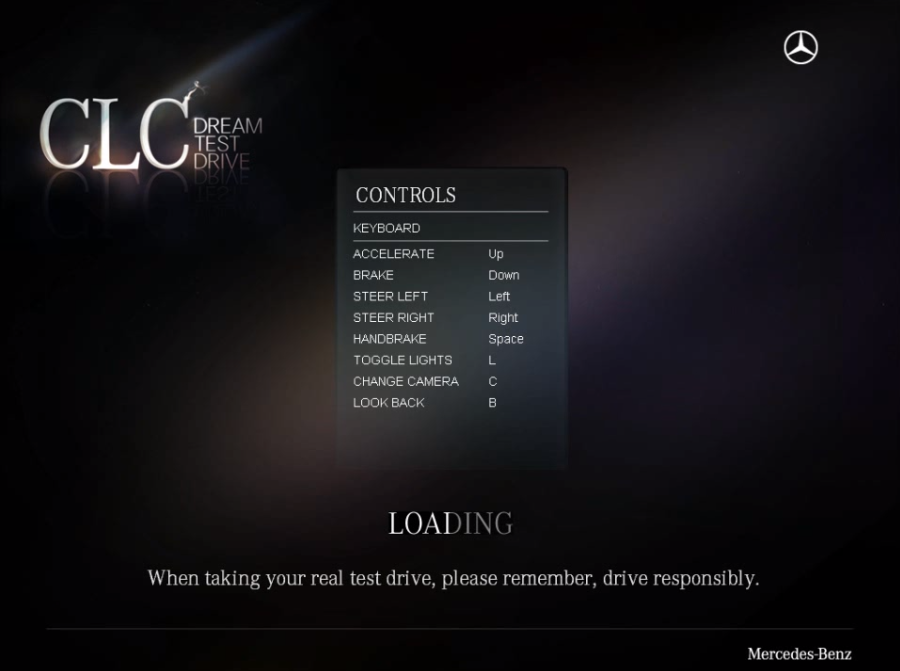 screenshot 1 Mercedes CLC Dream Test Drive