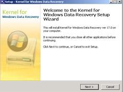 Kernel FAT NTFS   Windows Data Recovery screenshot 1