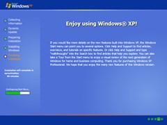 windows xp setup simulator screenshot 2
