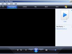 Windows Media Player screenshot 1